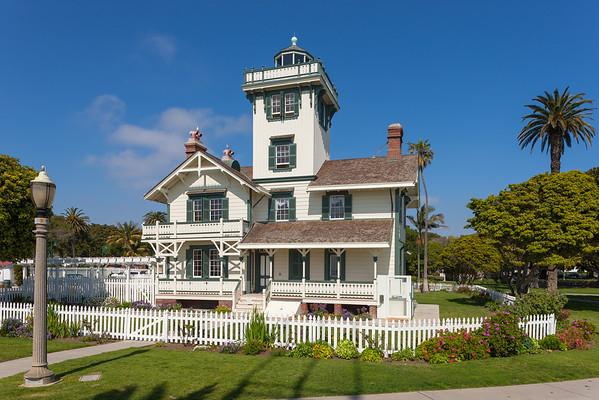 Point Fermin lighthouse in the afternoon
