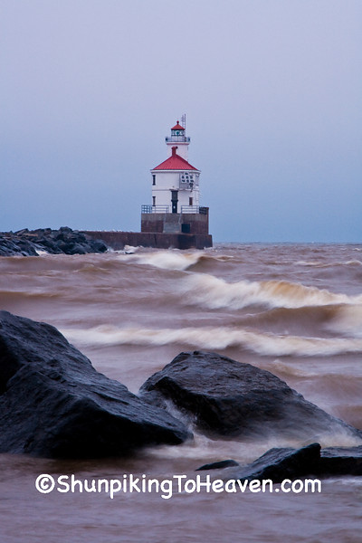 Wisconsin Point Light, Douglas County, Wisconsin