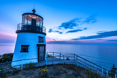 Owl's Head Lighthouse Summer Sunrise