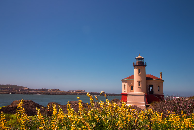 Coquille River Lighthouse, Oregon Coast