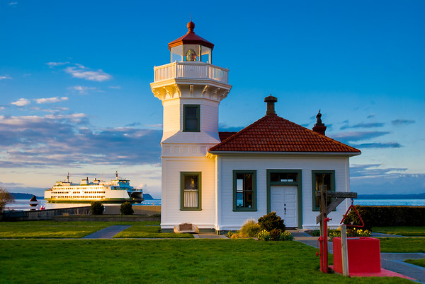Mukilteo Lighthouse Redux