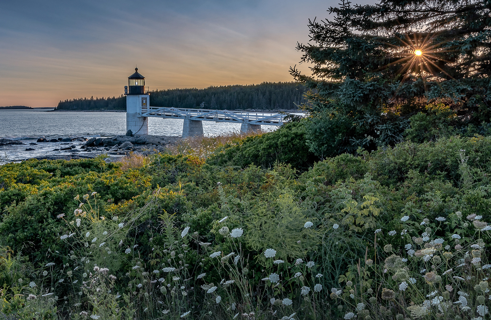 Marshall Point Lighthouse sunset - Port Clyde