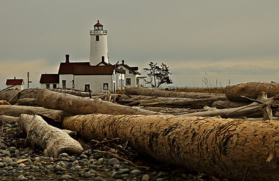 Dungeness Spit Light