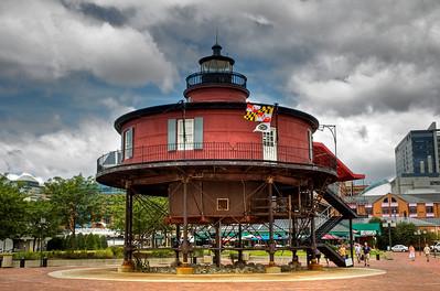 Seven Foot Knoll Light, Baltimore, MD