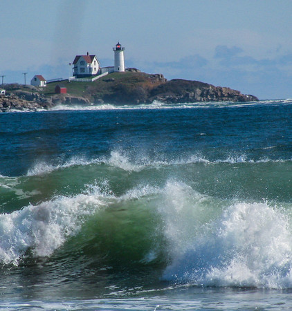 lighthouse & surf