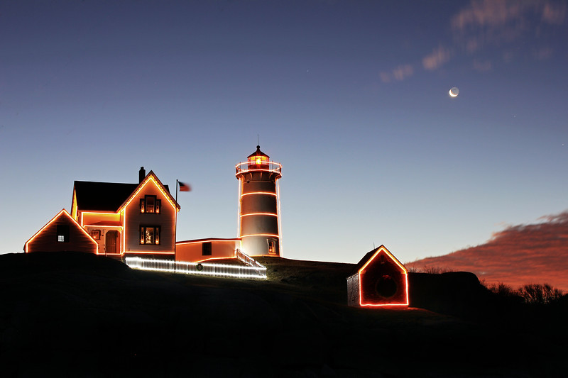 Nubble Light at Dawn