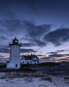 Race Point Lighthouse sunset