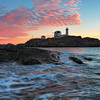 Nubble Light at Sunrise