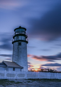 Highland Light sunrise (vertical)