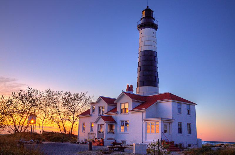 Big Sable Point Light Sunset