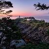 Framing Swallow Tail Lighthouse,  Grand Manan Island, New Brunswick