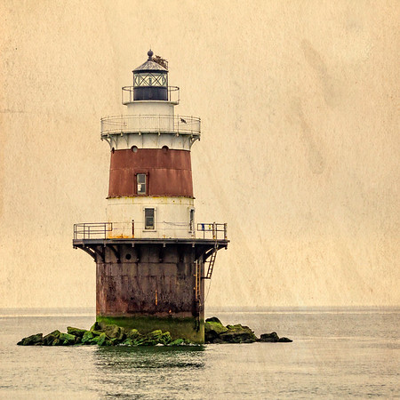 The Peck Ledge Light Postcard