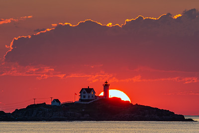 Nubble Light Sunrise