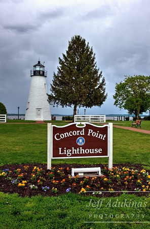 Concord Point Lighthouse Entrance
