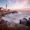 Portland Head Light Pastel, Portland, ME