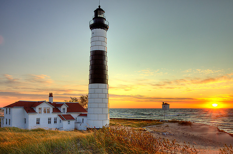 Big Sable Point Sunset