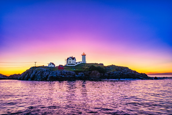 Nubble Lighthouse Sunrise