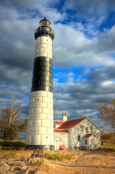Big Sable Point Lighthouse verticle