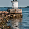Portland Breakwater Lighthouse (also known as Bug Light), South Portland, Maine