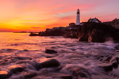 Tides at Portland Head Light