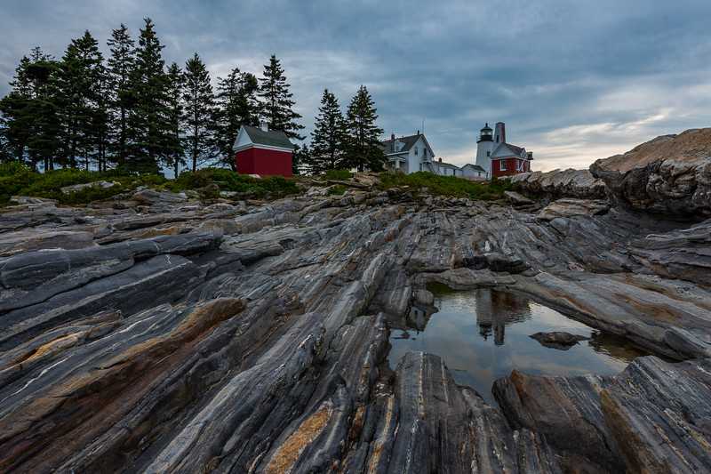 Pemaquid Point Reflection