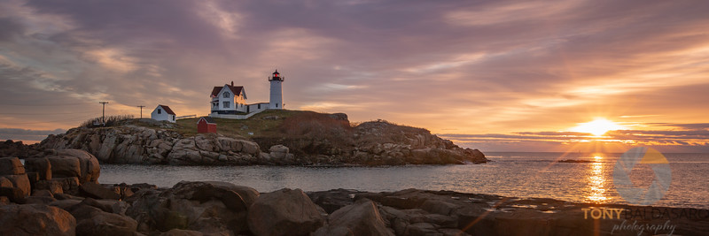 First Light on Nubble