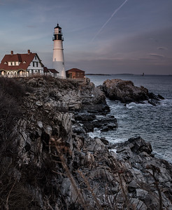 Portland Head Light vertical