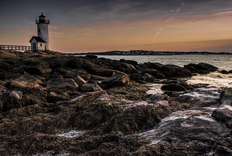 Annisquam Lighthouse sunset