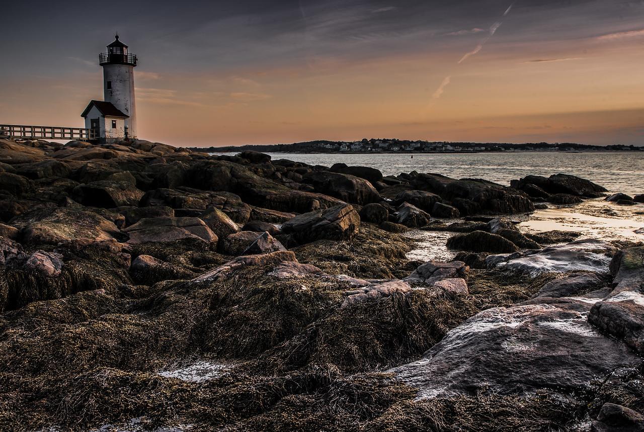 Annisquam Lighthouse sunset
