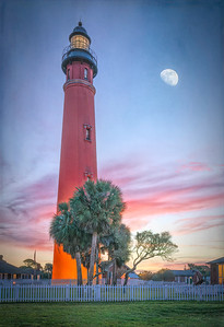 Ponce de Leon Inlet Lighthouse at Sunrise