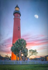 Ponce de Leon Inlet Lighthouse at Sunrise