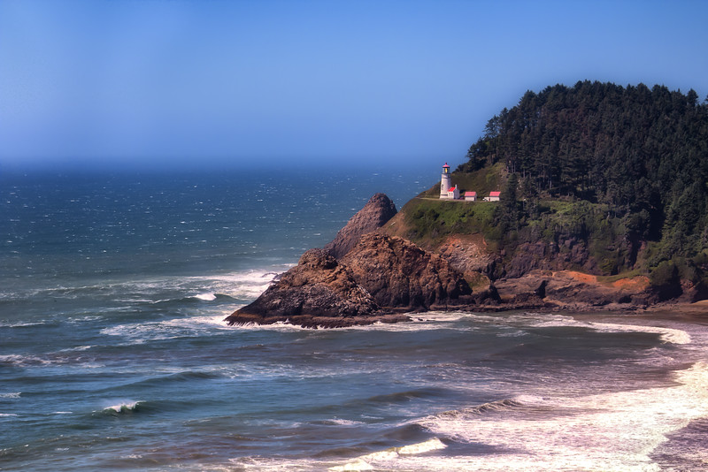 Heceta Head Lighthouse, Florence, Oregon Coast, USA