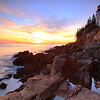 Bass Harbor Lighthouse SunsetSeascape