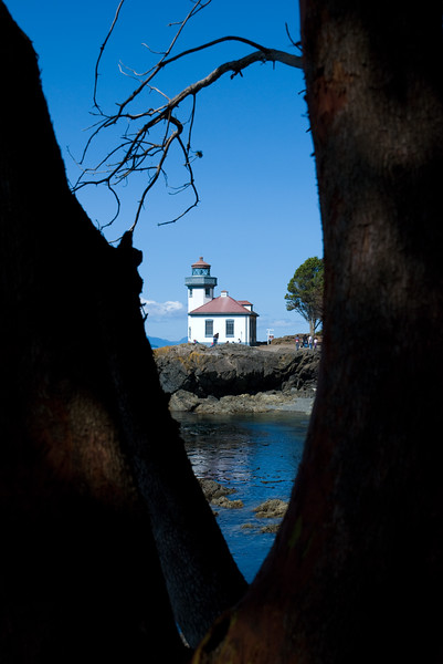 Lime Kiln Lighthouse, Washington
