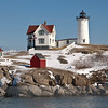 Nubble Lighthouse (also known as Cape Neddick Light), York, Maine