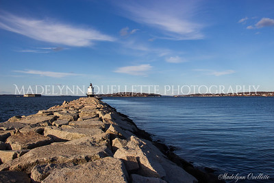 Spring Point Ledge Lighthouse and Fort Gorges