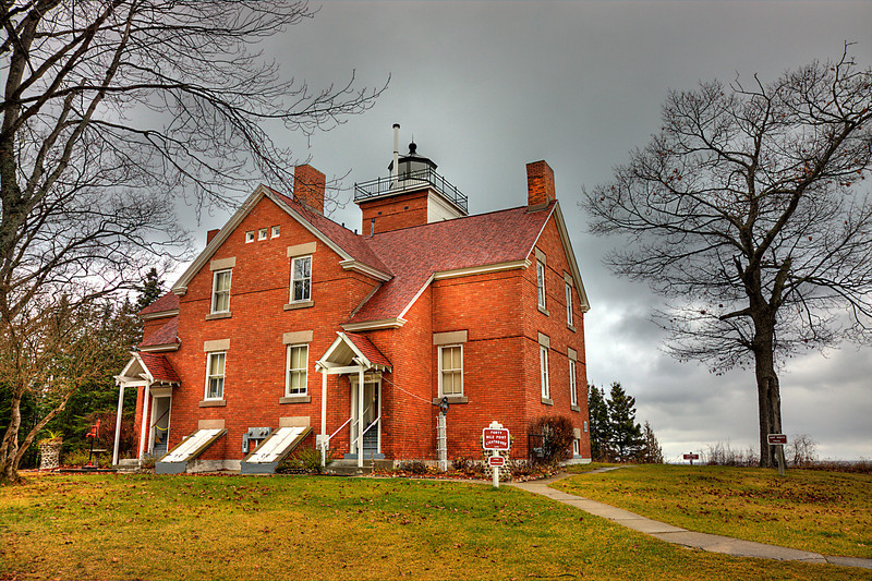 Fourty Mile Point Light