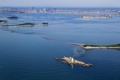 Boston Harbor Light to Boston