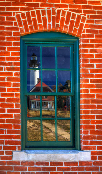 Au Sable Point Lighthouse Reflection