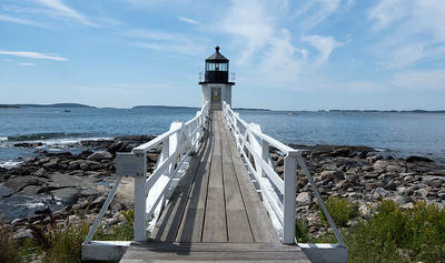 Isle au Haut Light, Isle au Haut Maine also known as Robinson Point Light