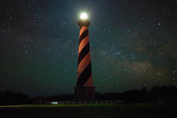 Hatteras & the Milky Way