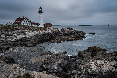 Portland Head Light (Ram's Head Light off to the right in background)