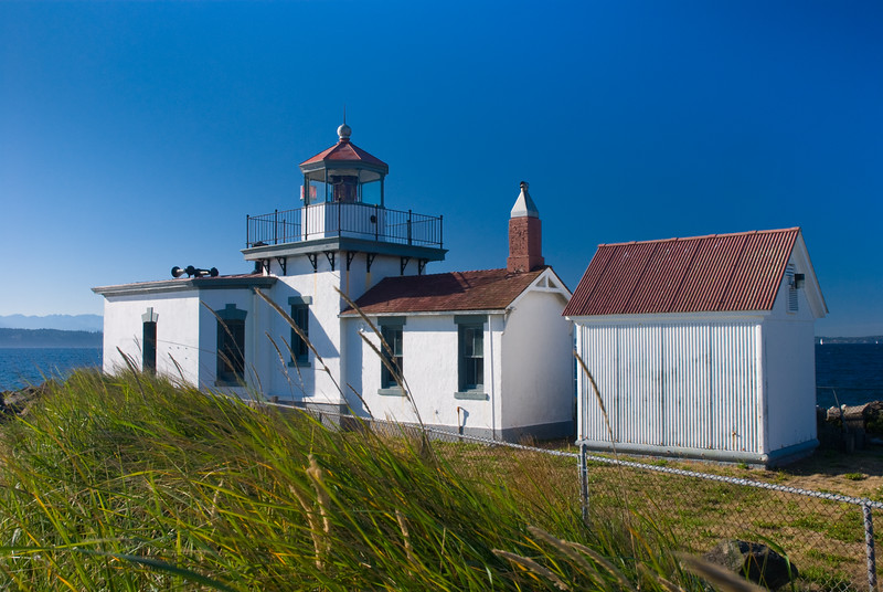 Discovery Park Lighthouse, Washington