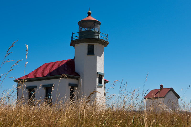 Point Robinson Lighthouse on Maury Island