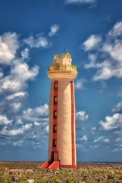 Willemstoren Lighthouse of Bonaire.