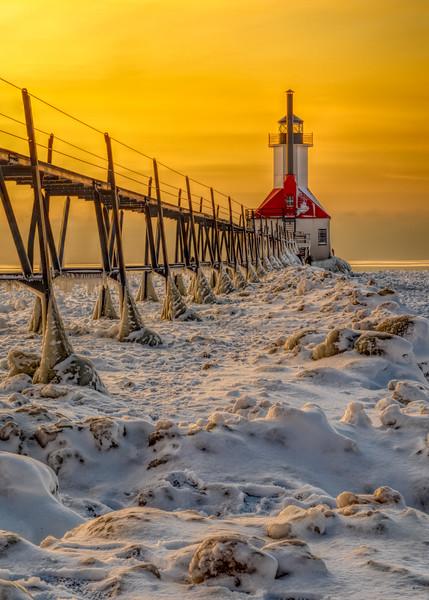 St Joseph Lighthouse at Sunrise