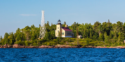 Copper Harbor Lighthouse in the Daytime
