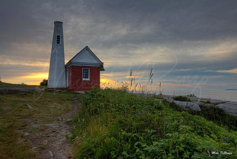 Cliffside Sunrise 1846 w63