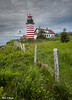 Overcast West Quoddy Lighthouse 1615 w38