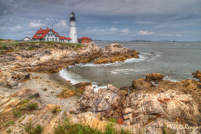 Portlandhead Lighthouse Summer 8718   w21